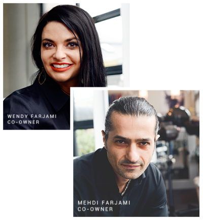 Wendy & Mehdi Farjami: Tribe Hair Salon Portland